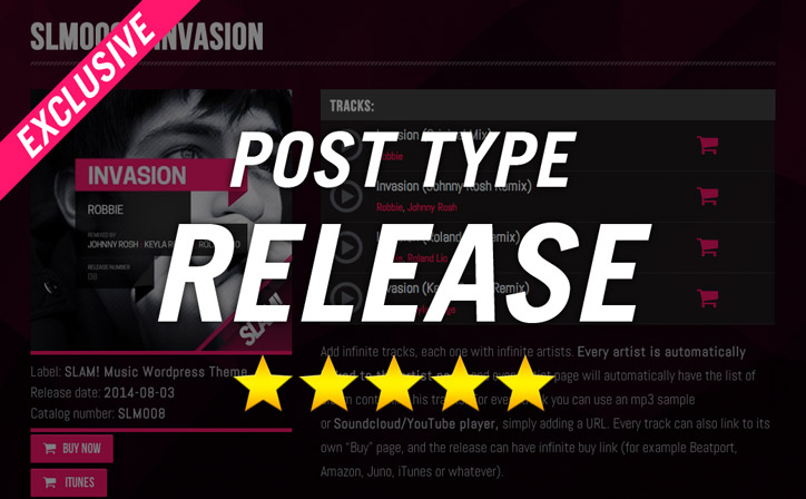 WordPress-theme-POST-TYPE-RELEASE